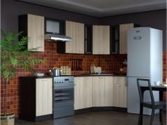 Гарнитур кухонный Сабрина Оптима угловой 1300х2500