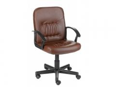 Кресло компьютерное Чип Коричневый кожзам