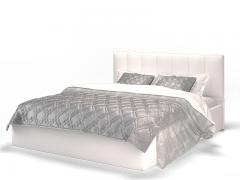 Кровать Элен белая с подъемным механизмом