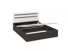 Кровать с подъемным механизмом Фьюжн ТД-260.01.04 Венге Линум-Белый глянец