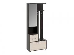 Шкаф-секция комбинированная тип 1 Витра Венге Цаво-Дуб Белфорт
