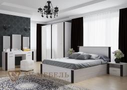 Спальня Гамма 20 венге-сандал