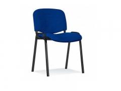 Стул офисный Изо black S6 ткань синяя